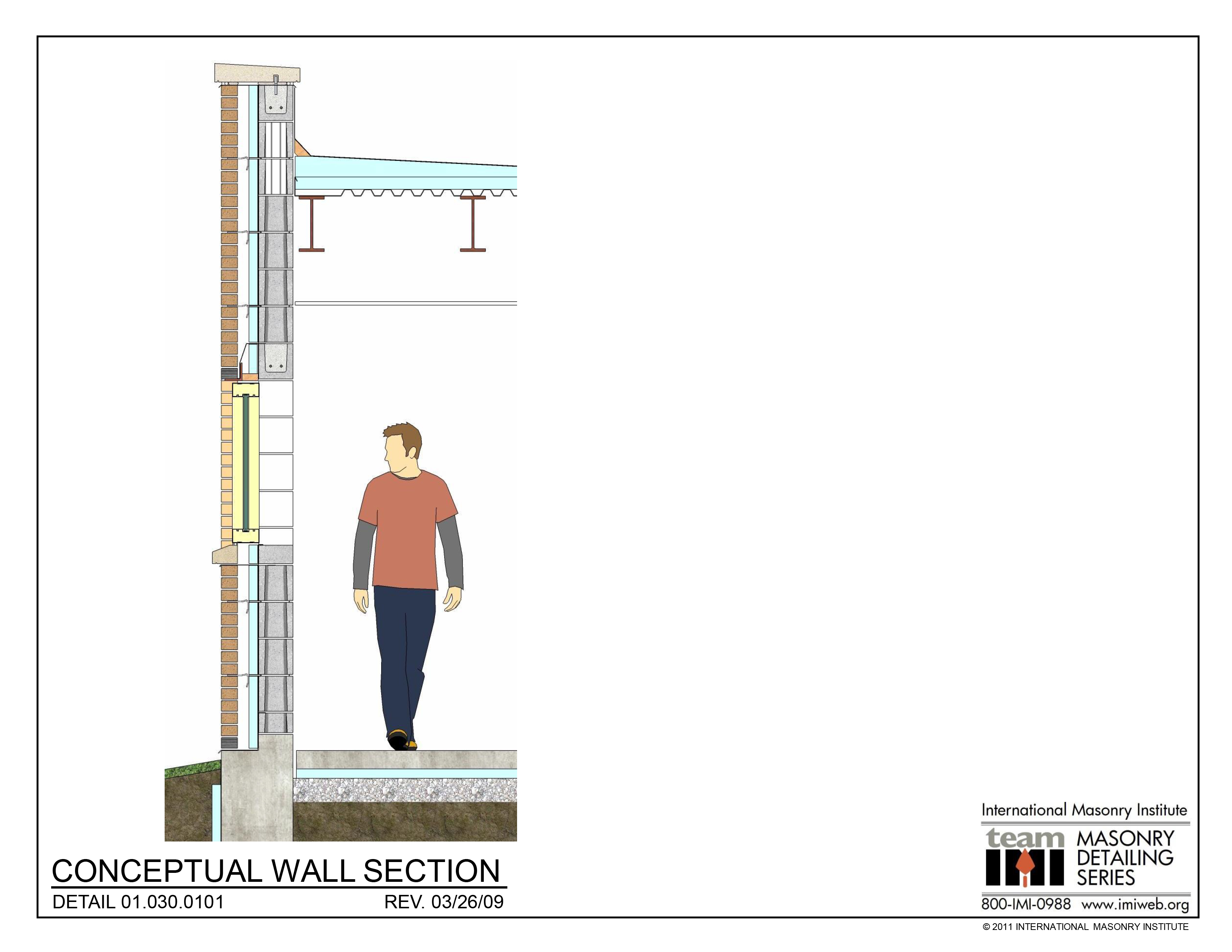 01 030 0101 Conceptual Wall Section