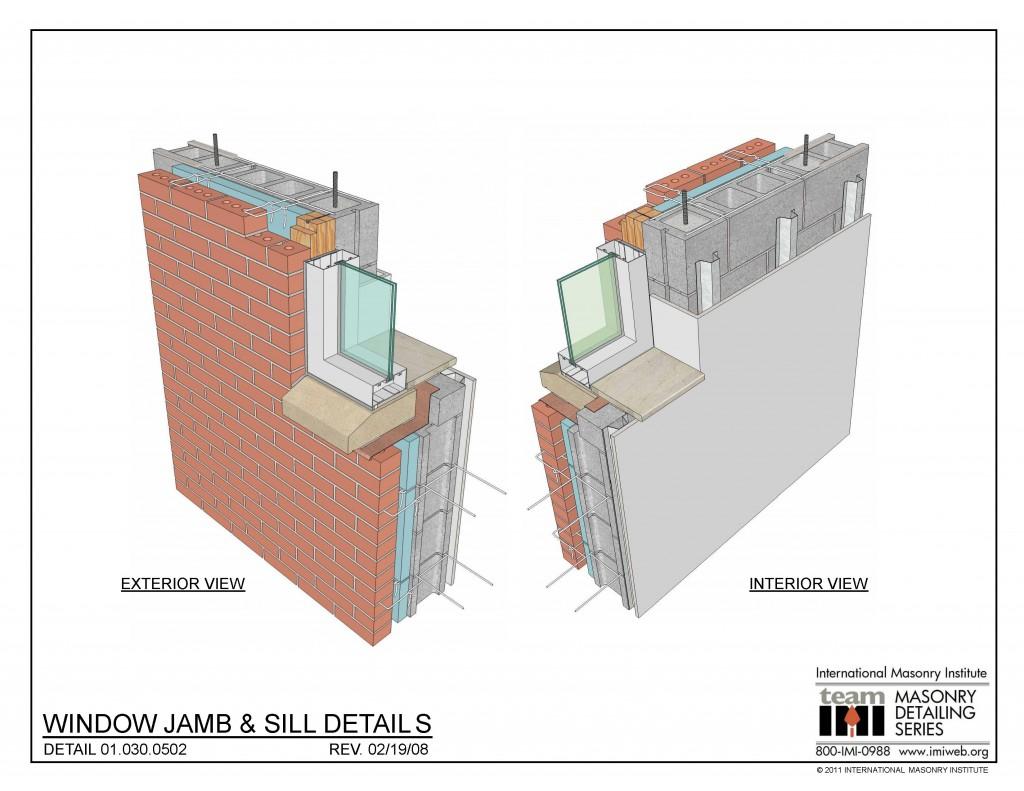 01 030 0502 Window Jamb Amp Sill Details International