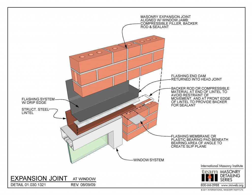 01 030 1321 Expansion Joint At Window International