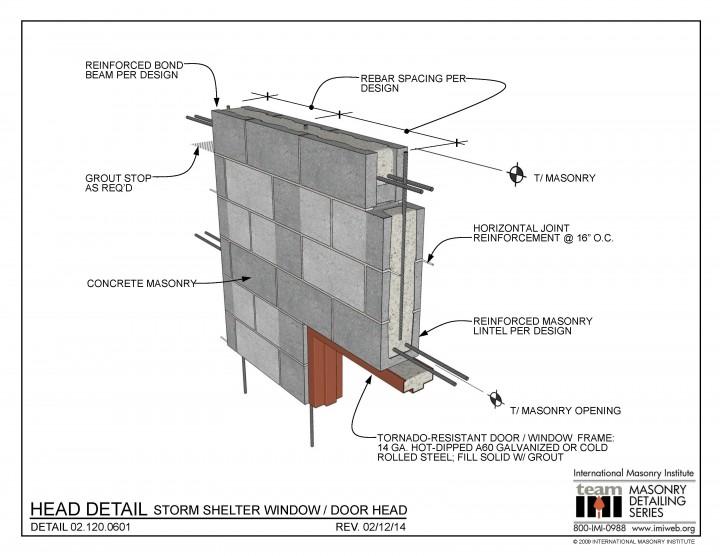 steel brick ledge masonry detailing series list international masonry institute