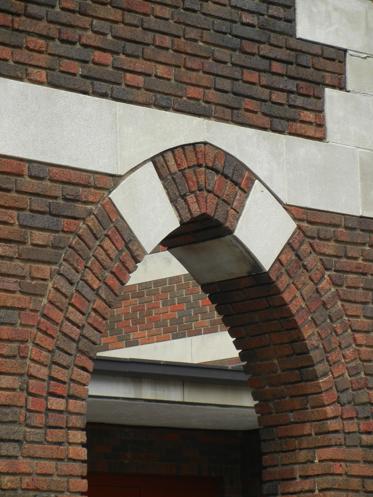 Home Gothic Arch With Stone Accent
