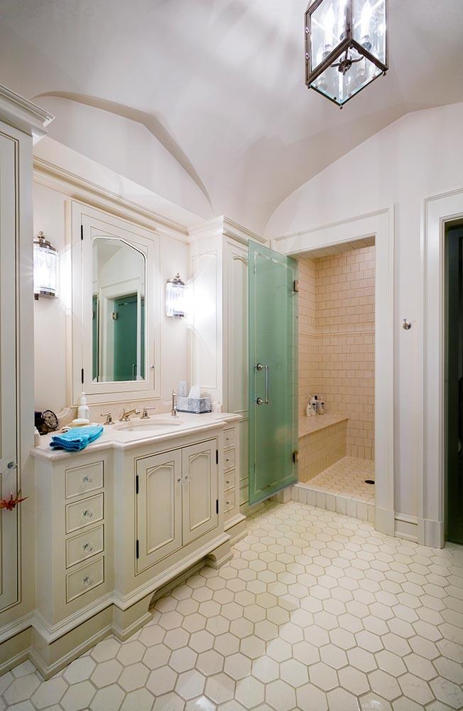 Private Residence Bathroom Floor Shower Stall International - Floor to ceiling bathroom stalls